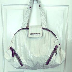Matt & Nat White Vegan Leather Shoulder Bag